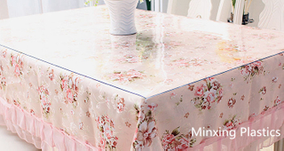 transparent pvc table protector